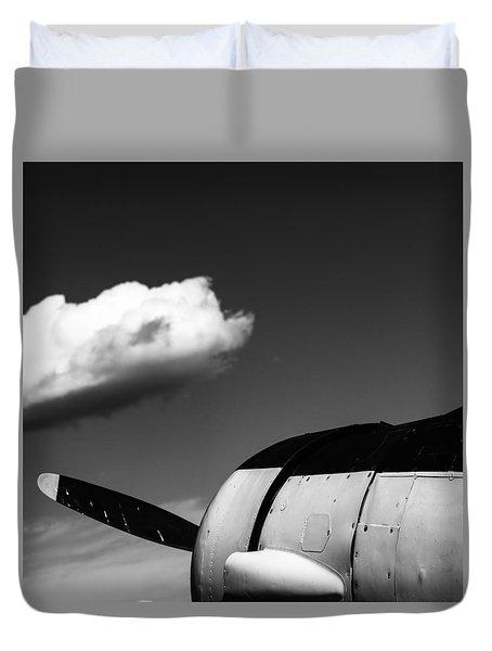 Plane Portrait 3 Duvet Cover by Ryan Weddle