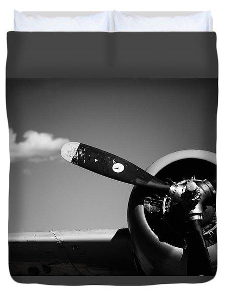 Plane Portrait 4 Duvet Cover by Ryan Weddle