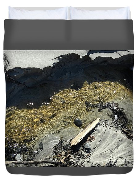 Planet Beach Duvet Cover