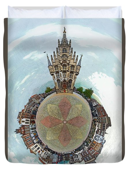 Planet Gouda Duvet Cover