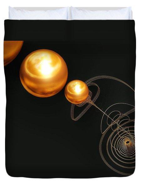 Planet Maker Duvet Cover by Isabella F Abbie Shores FRSA