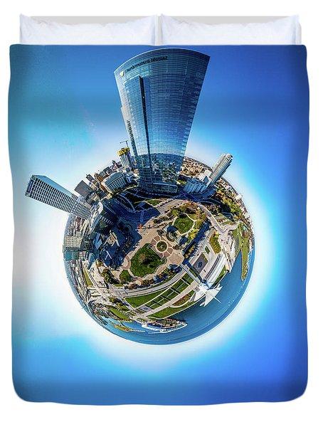 Planet Milwaukee Duvet Cover