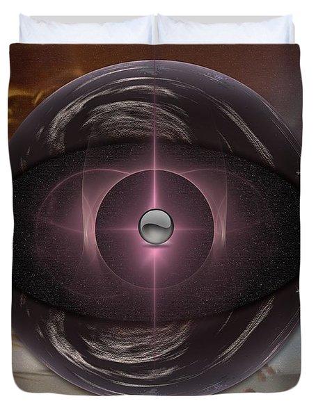 Planetoid Duvet Cover
