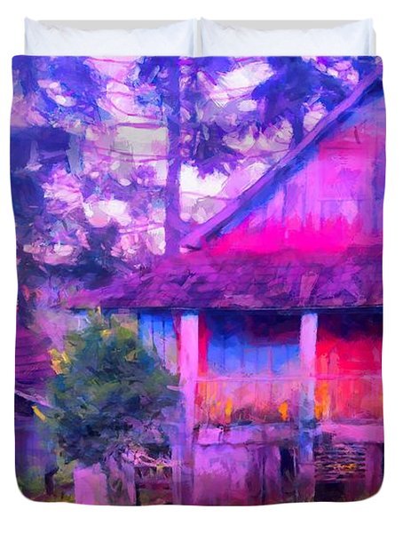 Plank Homes Duvet Cover