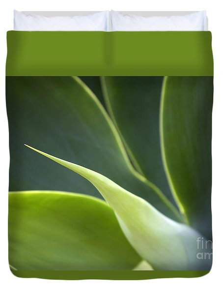 Plant Abstract Duvet Cover