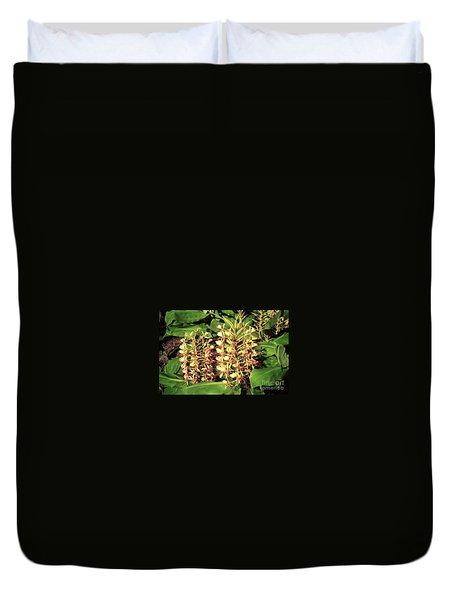 Plant Flowers Duvet Cover