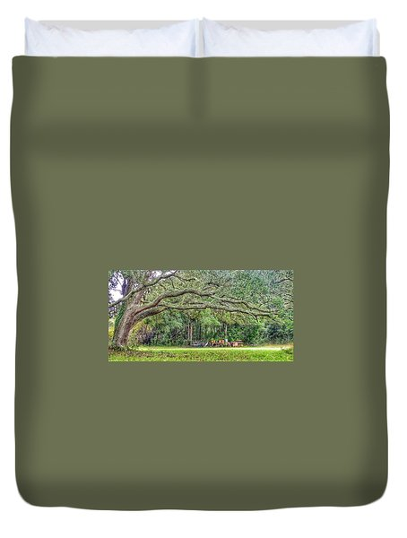 Plant It And The House Will Appear Duvet Cover
