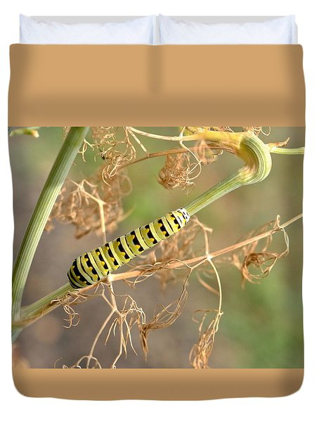 Plant It And They Will Come Duvet Cover by Jennifer Wheatley Wolf