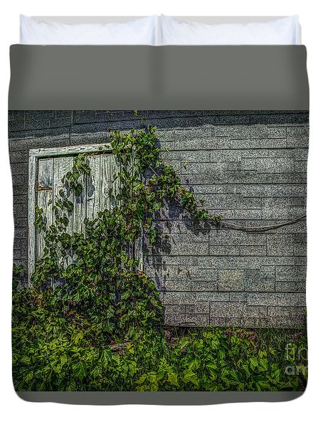Plant Security Duvet Cover