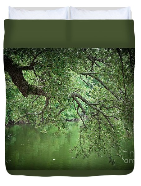 Planted By The Water Duvet Cover