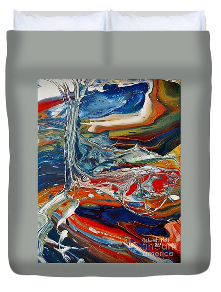 Planted By The Waters Duvet Cover