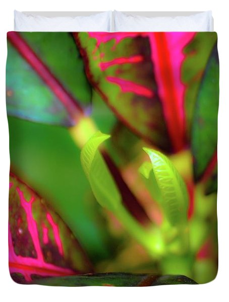 Plants In Hawaii Duvet Cover
