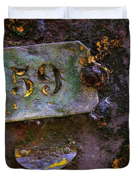 Plate 59 Duvet Cover by Carlos Caetano