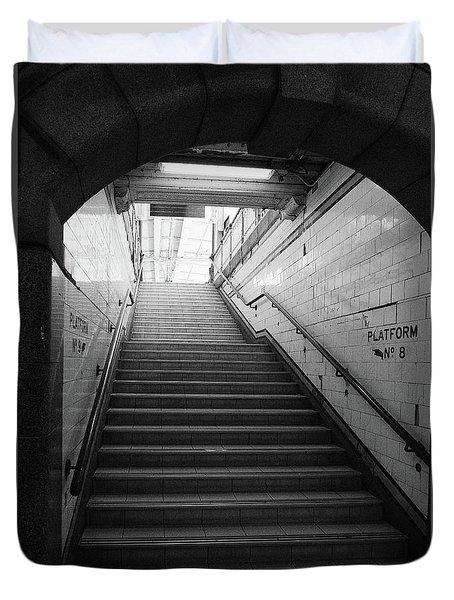 Platform 8 Duvet Cover