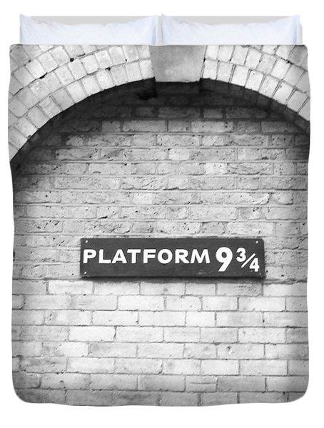 Platform 9 3/4 Duvet Cover