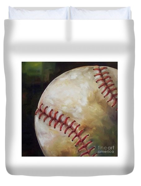 Play Ball Duvet Cover by Kristine Kainer