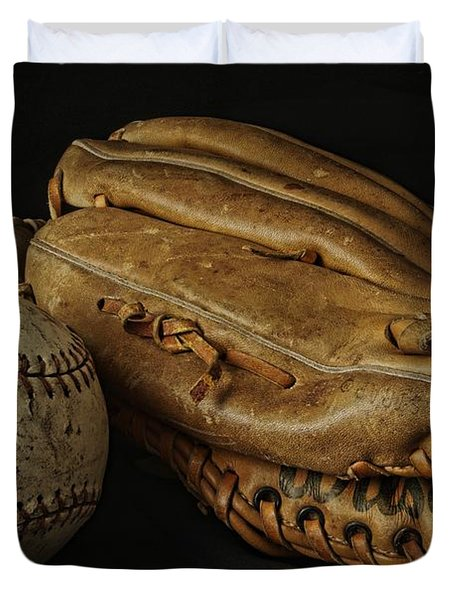 Duvet Cover featuring the photograph Play Ball by Richard Rizzo