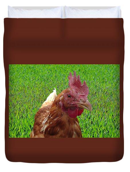 Play Chicken Duvet Cover
