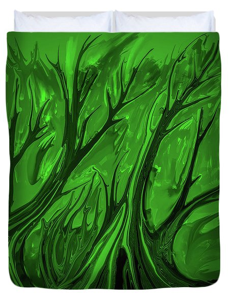 Play Green #h6 Duvet Cover