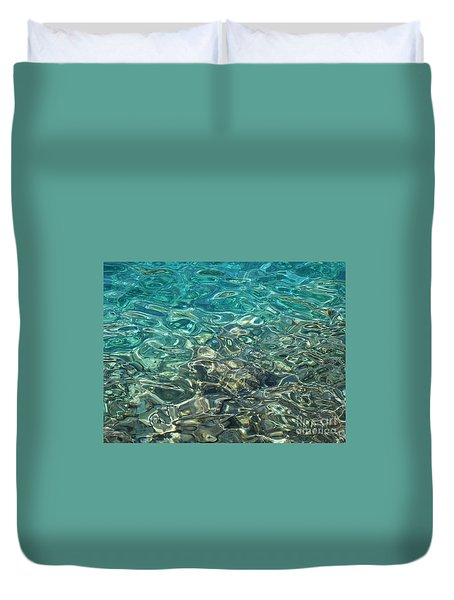 Play Of Light Duvet Cover