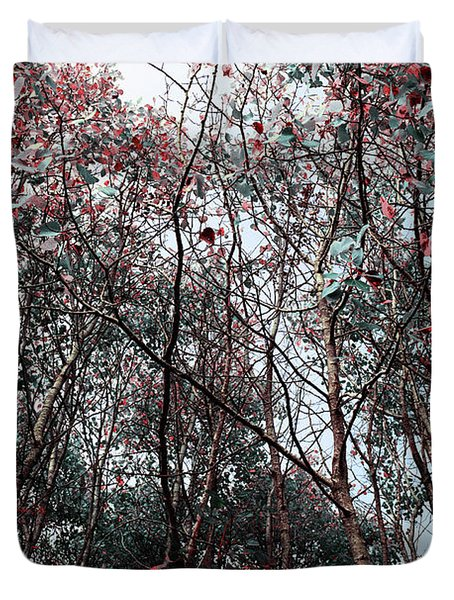 Play On Trees Duvet Cover