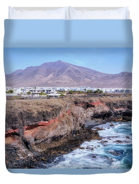 Playa Blanca - Lanzarote Duvet Cover