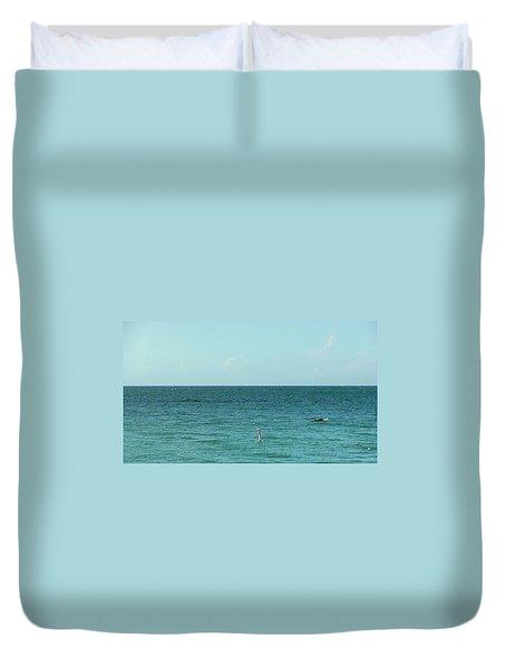Playa Punta Las Marias Duvet Cover