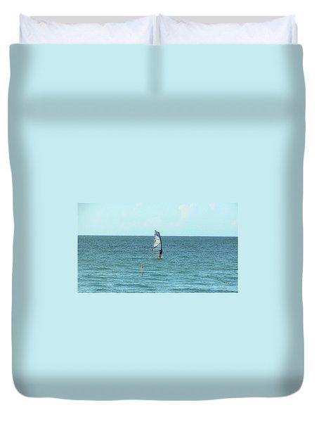 Playa Puntas Las Marias Duvet Cover
