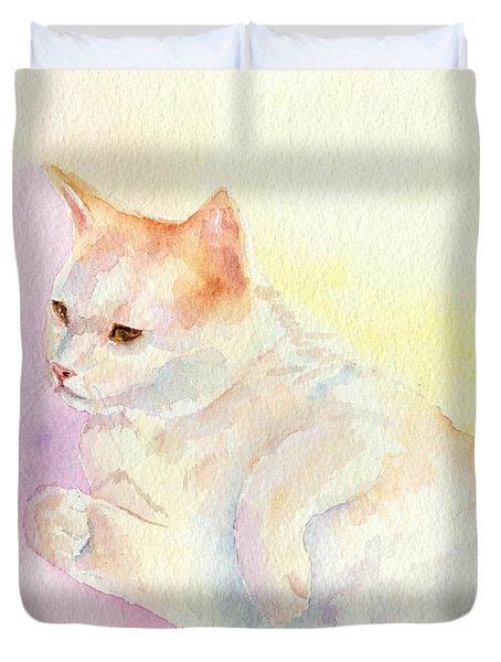 Playful Cat IIi Duvet Cover