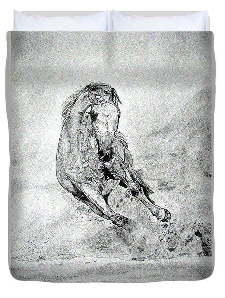 Playfull Duvet Cover by Melita Safran