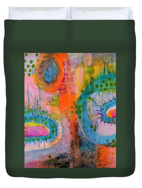 Playground In The Sea II Duvet Cover