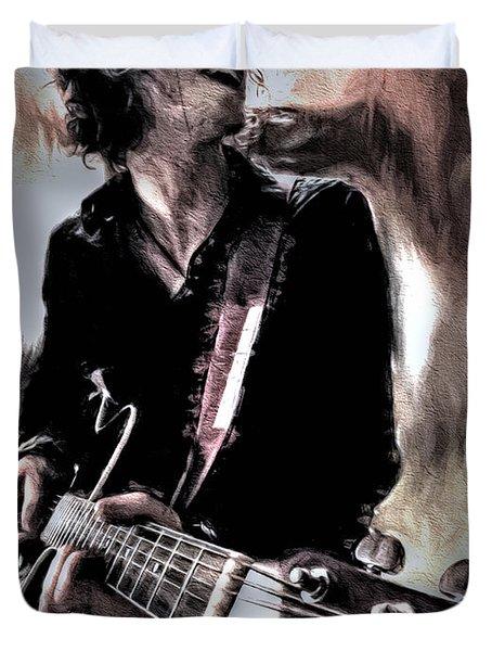 Playin' Grunge Duvet Cover