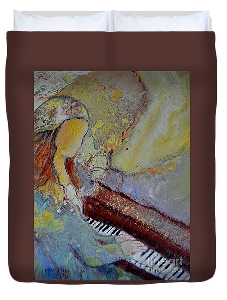 Playing By Heart Duvet Cover