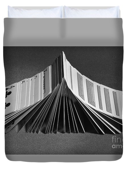 Playing Cards Domino Duvet Cover
