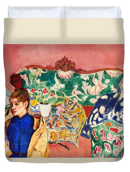 Playing With Henri Matisse Duvet Cover