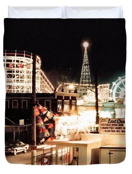 Playland Duvet Cover by Bruce Lennon