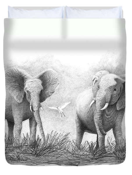 Playtime Duvet Cover by Phyllis Howard