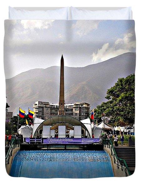 Plaza Altamira Duvet Cover