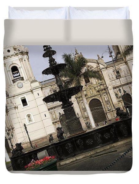 Plaza San Martin Duvet Cover