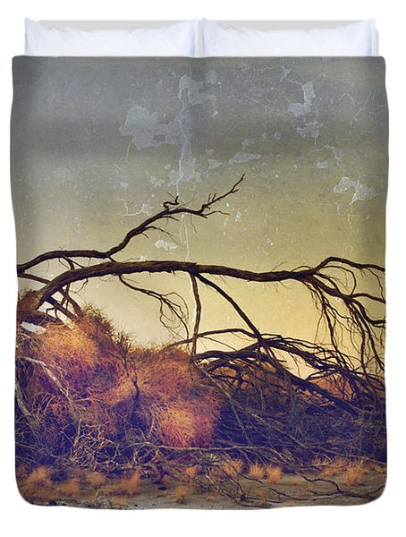 Pleading For Life Duvet Cover by Laurie Search
