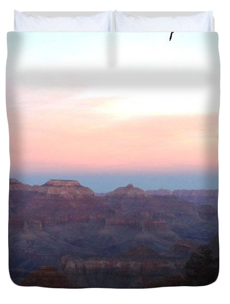 Pleasant Evening At The Canyon Duvet Cover by Adam Cornelison