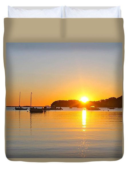 Pleasant Ray Duvet Cover by Justin Connor
