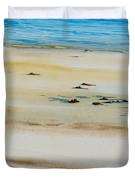 Pleasant Bay Clammer Duvet Cover