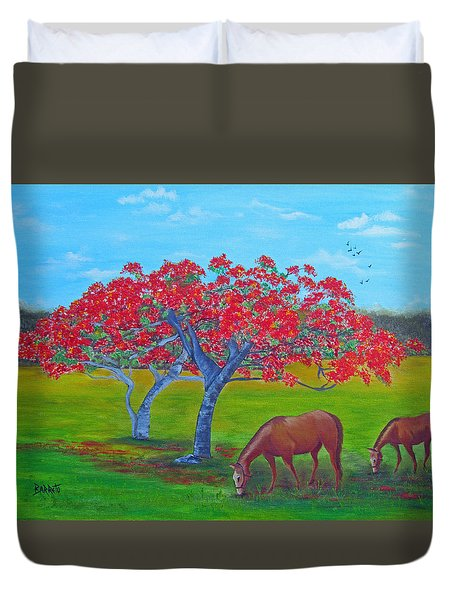 Pleasent Pastures Duvet Cover
