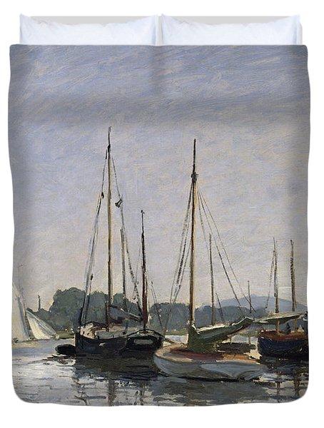 Pleasure Boats Argenteuil Duvet Cover