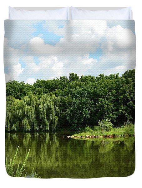 Plein Air Duvet Cover