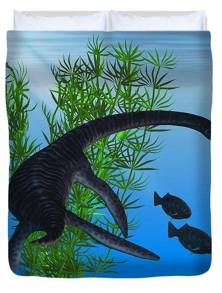 Plesiosaurus Duvet Cover