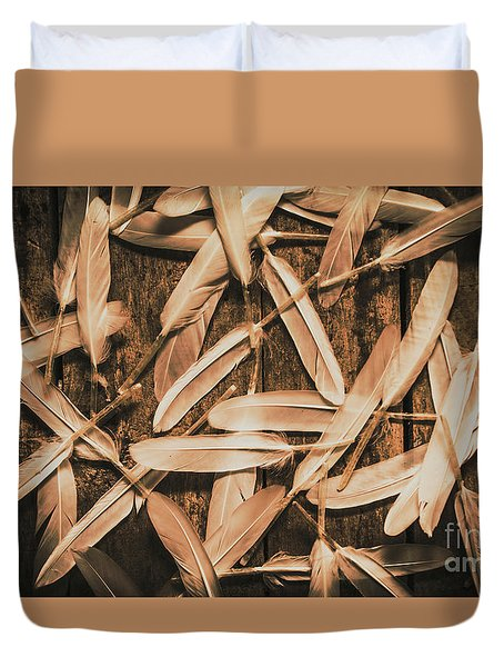 Plight Of Freedom Duvet Cover
