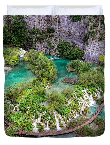 Plitvice Lakes National Park Duvet Cover