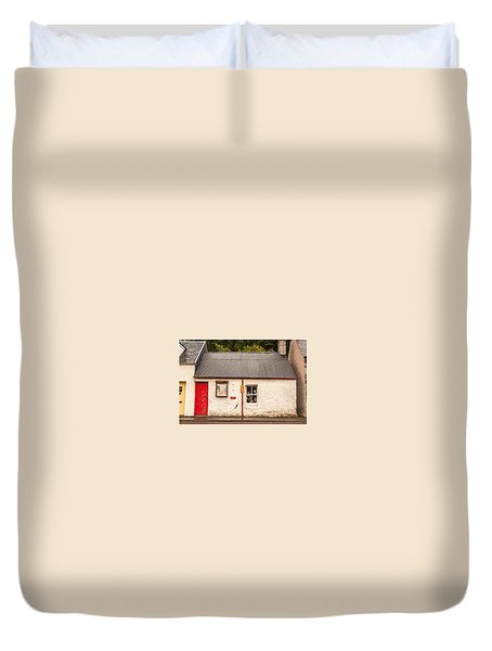 Plockton Cottage Duvet Cover